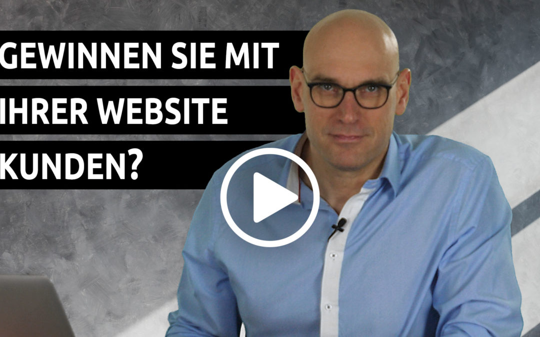 Gewinnst du neue Kunden mit deiner Website?